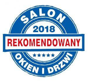 Tytuł Rekomendowany Salon Okien i Drzwi przyznany firmie CK Stolarka z Leśniewa przez niezależną Kapitułę.