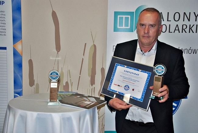Adam Słaby (laureat) - właściciel firmy Bram - Furt