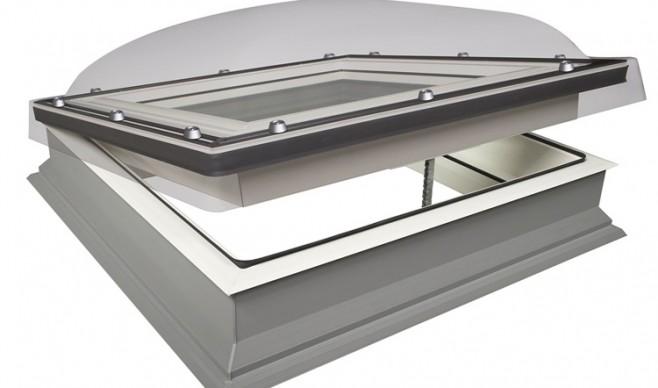 Światło pod płaskim dachem – okno do dachów płaskich