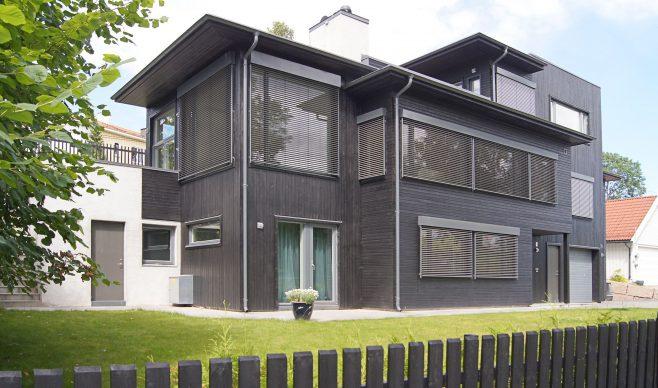Żaluzja fasadowa – wyrazista oprawa okien