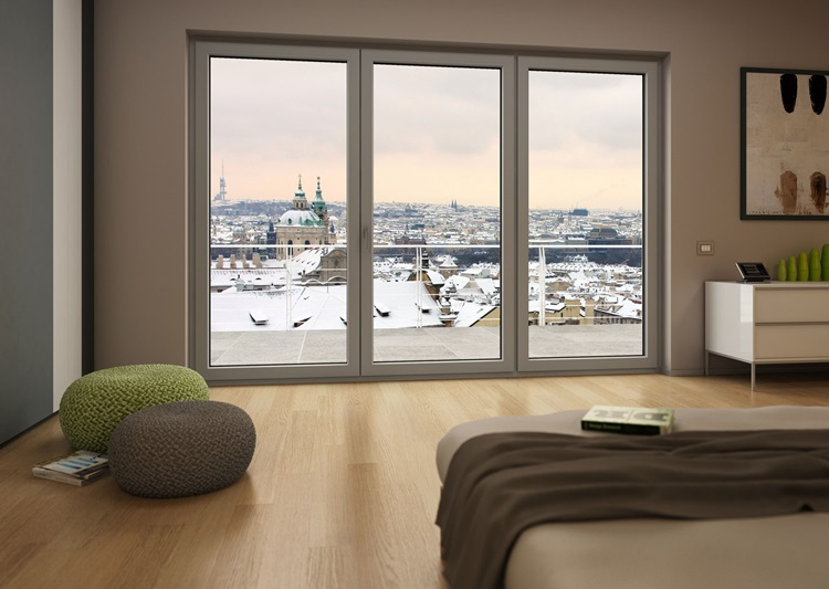 Winergetic Premium passive- energoszczędne okna do salonu