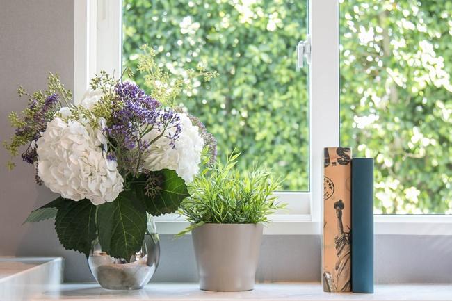 Fotolia_FAKRO_dekoracja_parapetow_kwiaty_dekoracje_okna_markizy_ochrona_przeciwsloneczna