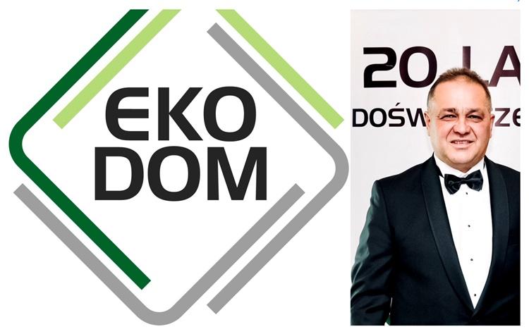 Artur Łubkowski właściciel rekomendowanego salonu okien i drzwi Eko-Dom