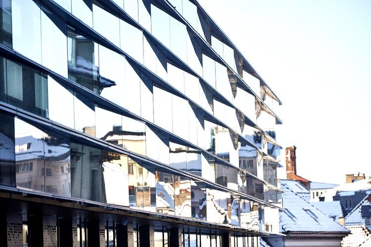 szkło w nowczesnej architekturze