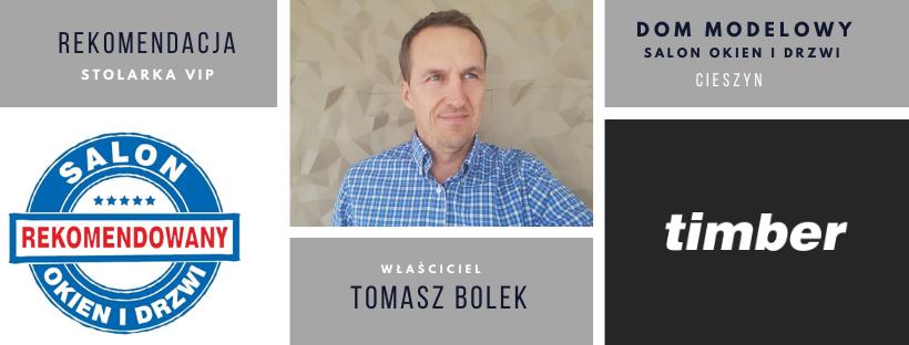 Tomasz Bolek właściel rekomendowanego Salonu Timber w Cieszynie