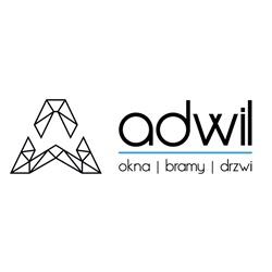 Logo Adwil Okna drzwi bramy