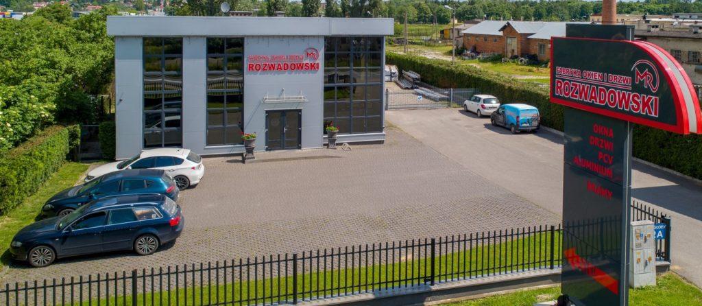Fabryka Okien i Drzwi Okna Rozwadowski w Ostrowcu Świętoktrzyskim