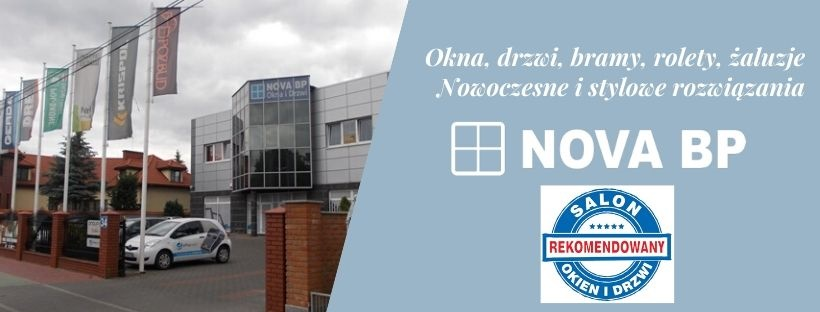 Nova BP _ Rekomendowany salon Okien i Drzwi z Legionowa