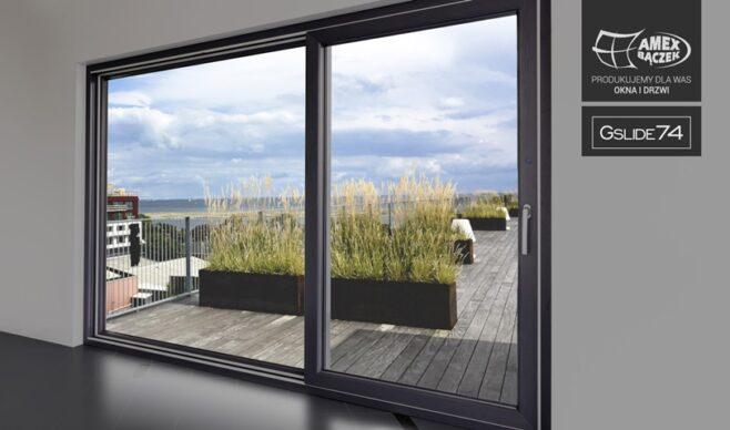 Okna na taras i do kuchni. Nowości produktowe w Amex-Bączek.