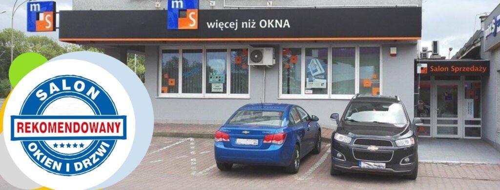 Rekomendowany Salon Okien i Drzwi MS Szczecin przy ul. Gdańskiej 16b