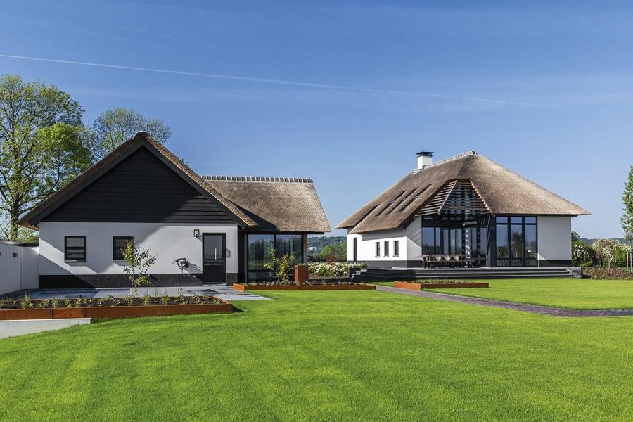 farma w Holandii wyposarzona w okna Fakro