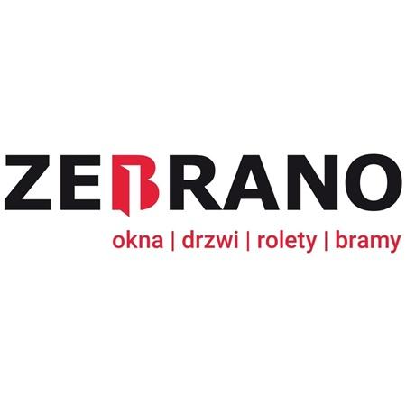 Zebrano logo salon okien i drzwi