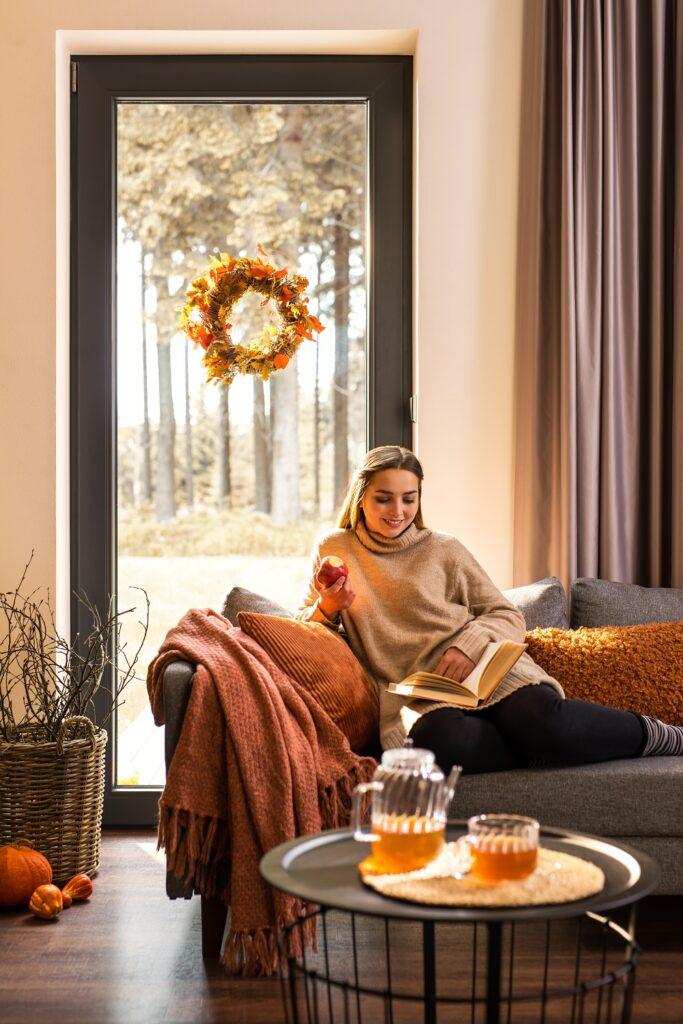 termoizolacyjne okna Deceuninck zatrzymują ciepło w domu