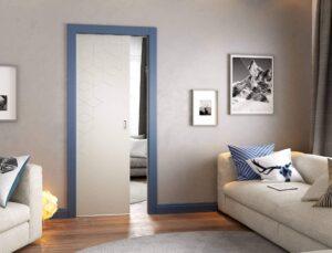 drzwi wewnętzrne chowane w ścianę