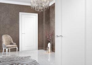 Nowoczesna klasyka - białe drzwi wewnętrzne