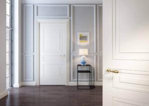 Drzwi wenętrzne białe