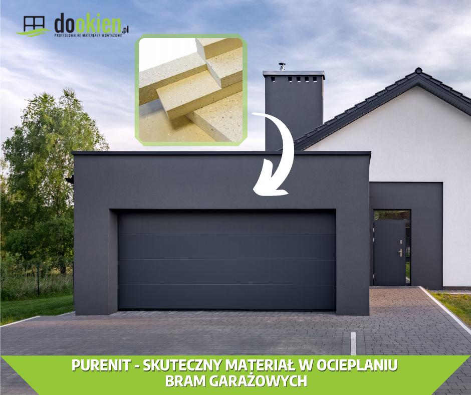 Purenit - montaż bramy garażowej